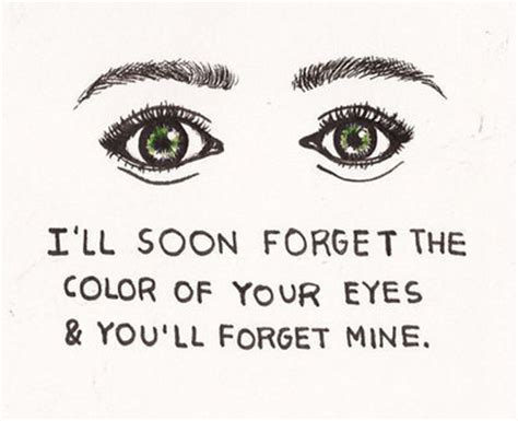I'll never forget those eyes essay